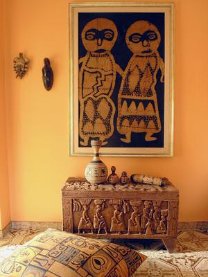 Afrikanischer Einrichtungsstil Ein Hauch Von Mystik Im Wohnzimmer
