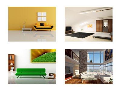 einrichtungsstile f r das wohnzimmer der passende stil. Black Bedroom Furniture Sets. Home Design Ideas