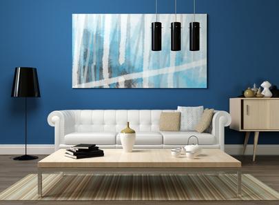 bilder im wohnzimmer - wohnzimmer-bilder als dekoration, Design ideen