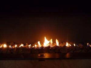 Natürliche Wärme dank Kamin