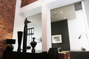 trendiges Wohnzimmer
